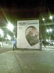 Poster in Valencia