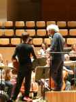 Simon Rattle and Matthew Truscott chat