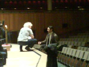 Simon Rattle and Vladimir Jurowski