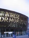 Exterior of Millennium Centre