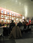 Performers canteen in the interval