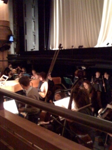 Orchestra pit