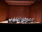 OAE on stage at Alice Tully Hall