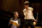Melgaard Young Conductor Eduardo Portal with Matthew Truscott