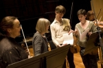 The OAE's four leaders: Margaret Faultless, Alison Bury, Matthew Truscott and Kati Debretzeni