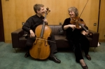 Jonathan Manson and Annette Isserlis