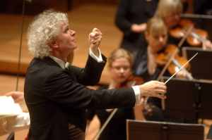 Sir Simon Rattle and the OAE