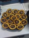 Lisa ginger choc tarts