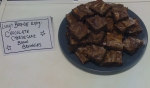 Lucy's Chocolate cheesecake bacon brownies