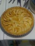 Tashe French apple tart