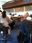 Rehearsal with Norrington 2