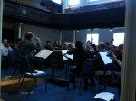 Rehearsal with Norrington