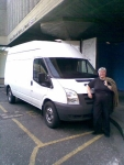Philippa and her van